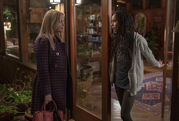Big Little Lies - Piccole grandi bugie: Reese Witherspoon e Zoe Kravitz in una foto della seconda stagione: 483877 - Movieplayer.it