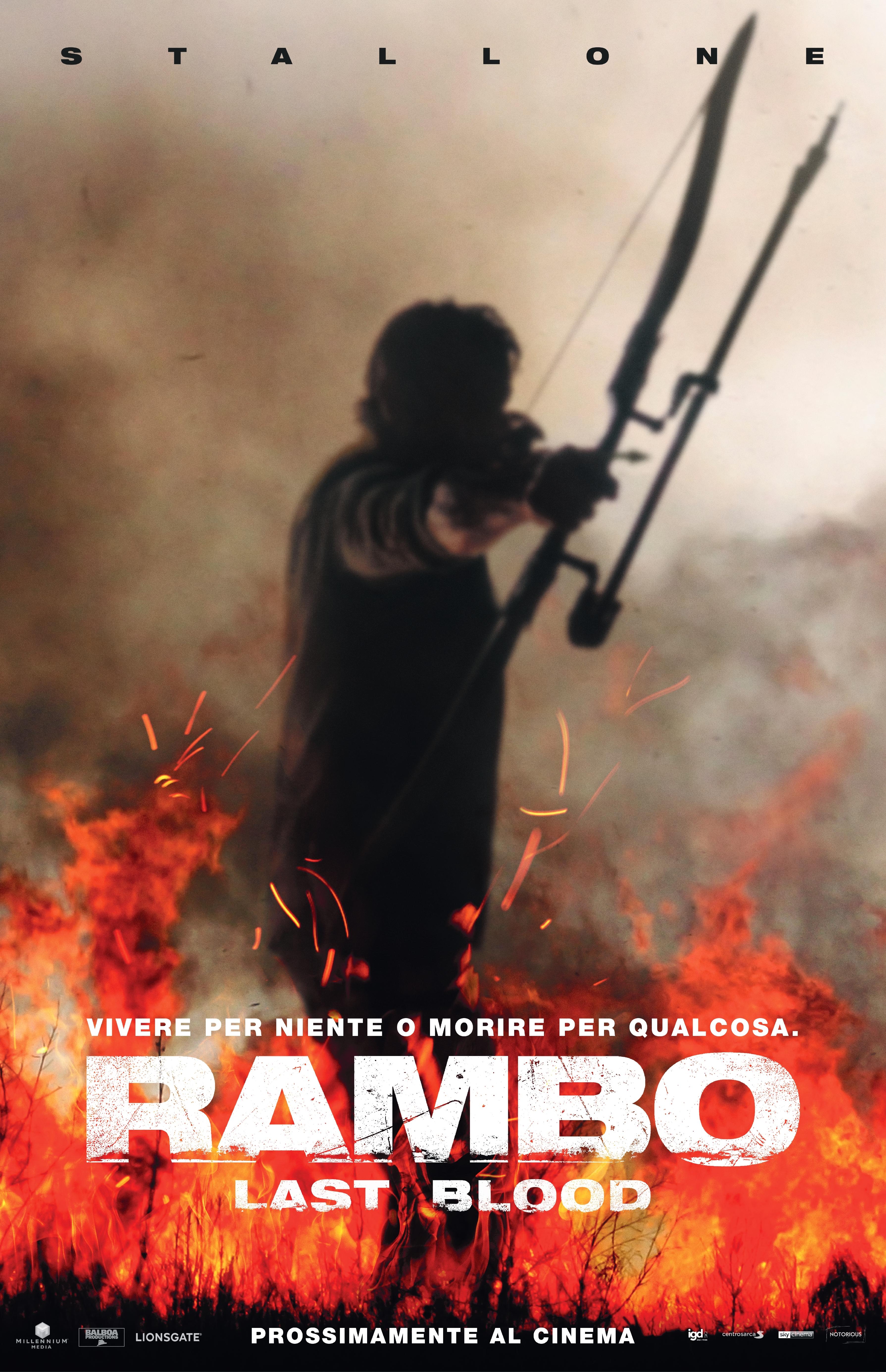 Locandina di Rambo V: Last Blood