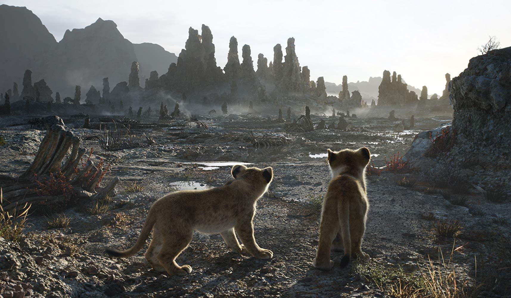 Il Re leone: una scena del film