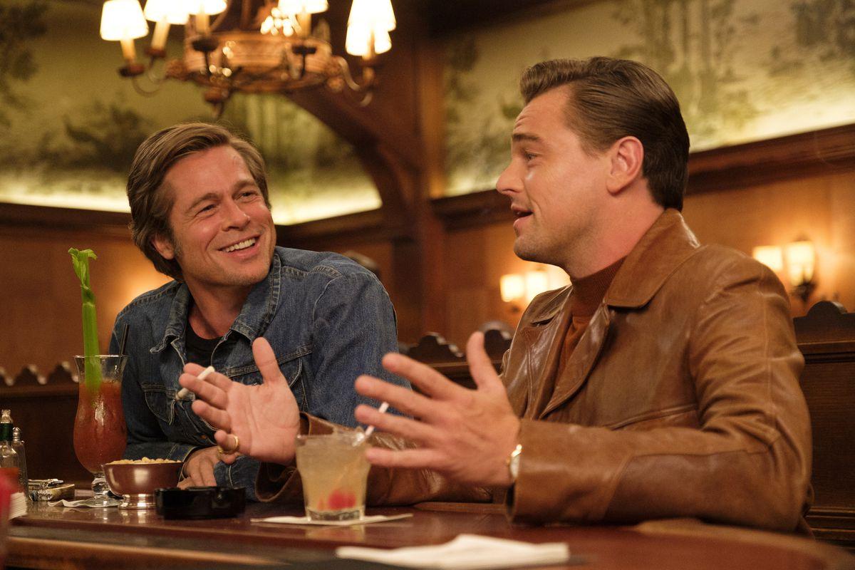 C'era una volta a… Hollywood: Brad Pitt e Leonardo DiCaprio in un'immagine del film