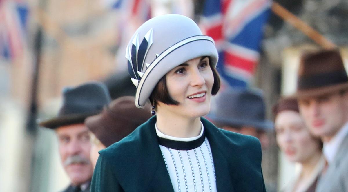 Downton Abbey: Michelle Dockery in una scena del film