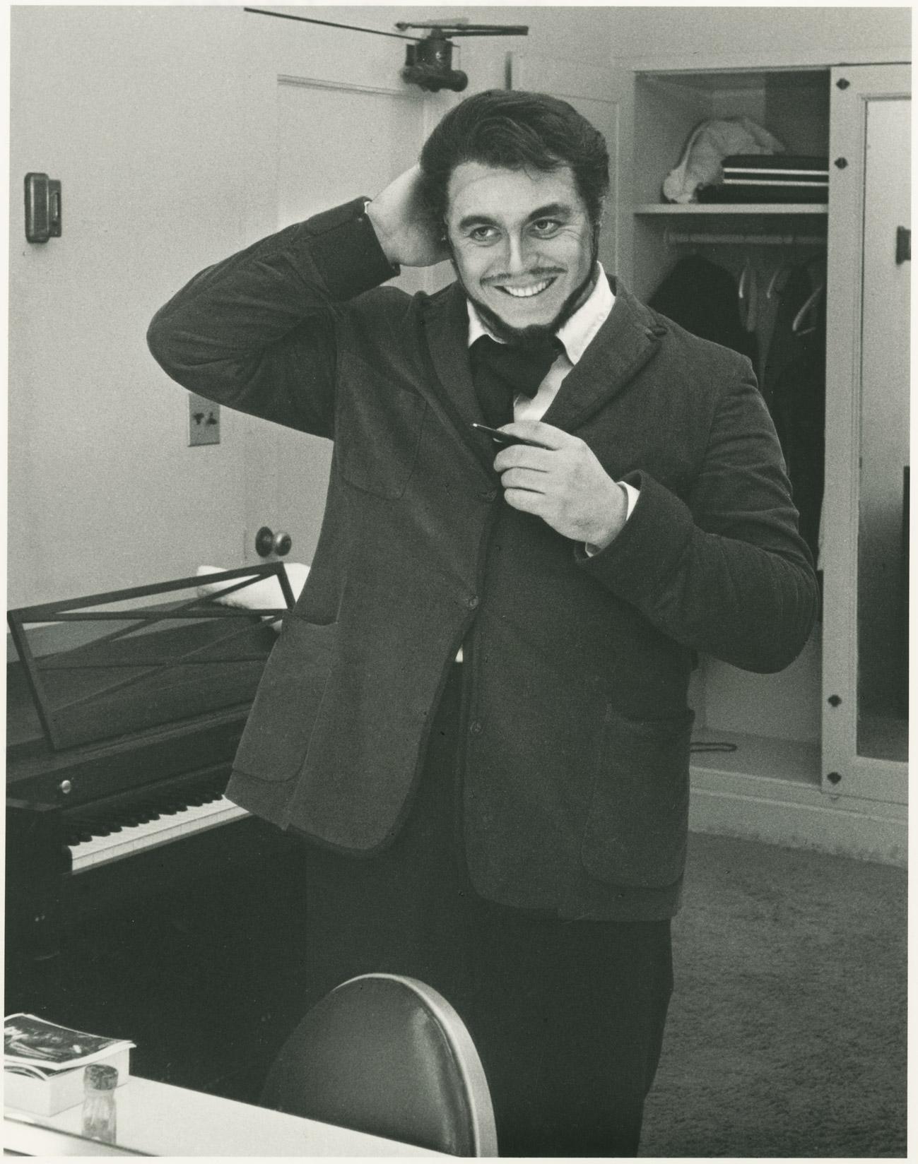 Pavarotti: un'immagine del documentario
