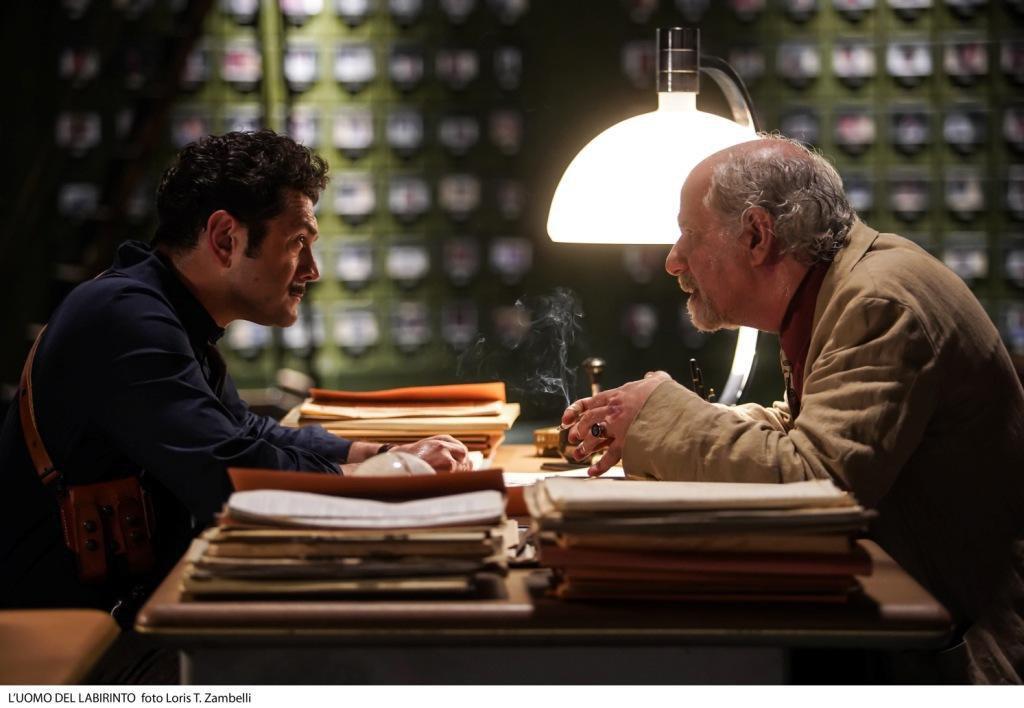L'uomo del Labirinto: una scena del film