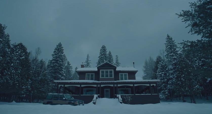 The Lodge: una sequenza del film