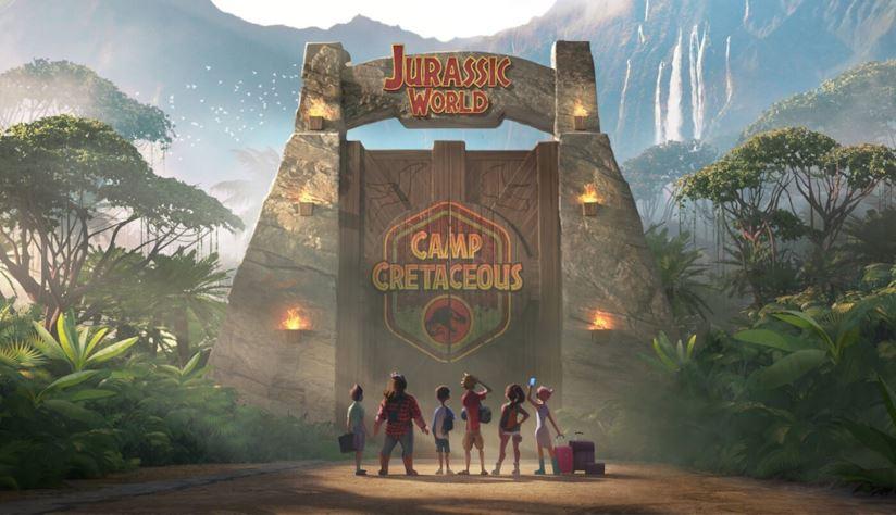 Jurassic World: Camp Cretaceous: Un'immagine promozionale della serie animata