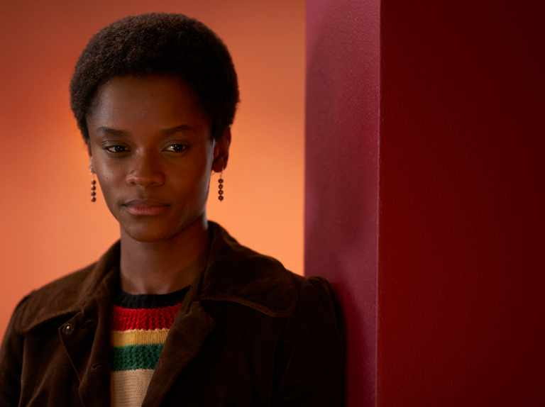Small Axe: Letitia Wright in una foto della serie