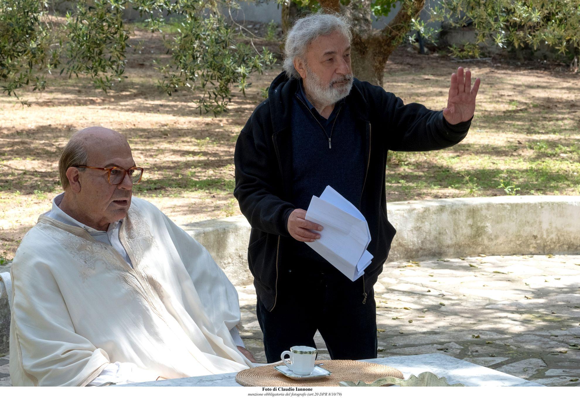 Hammamet: Pierfrancesco Favino sul set
