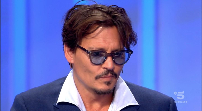 Johnny Depp a C'è posta per te: un primo piano dell'attore
