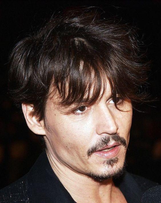 Un bellissimo primo piano di Johnny Depp