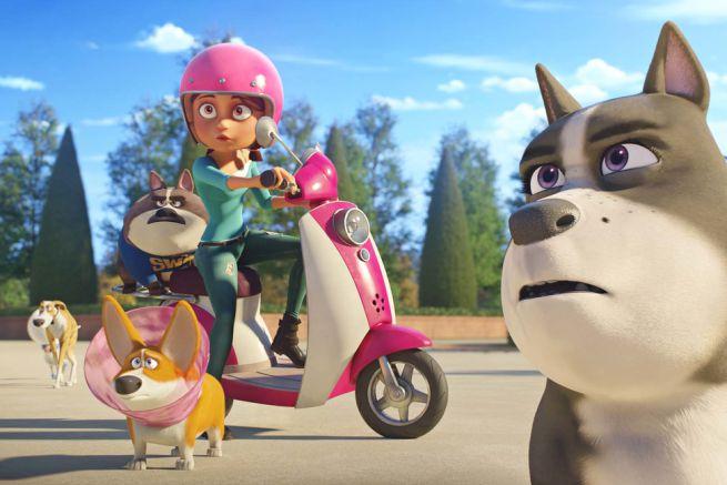 Tappo - Cucciolo in un mare di guai: un'immagine del film d'animazione