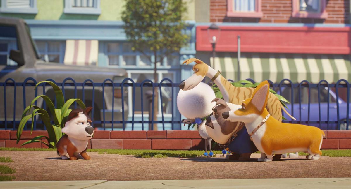 Tappo - Cucciolo in un mare di guai: un momento del film animato