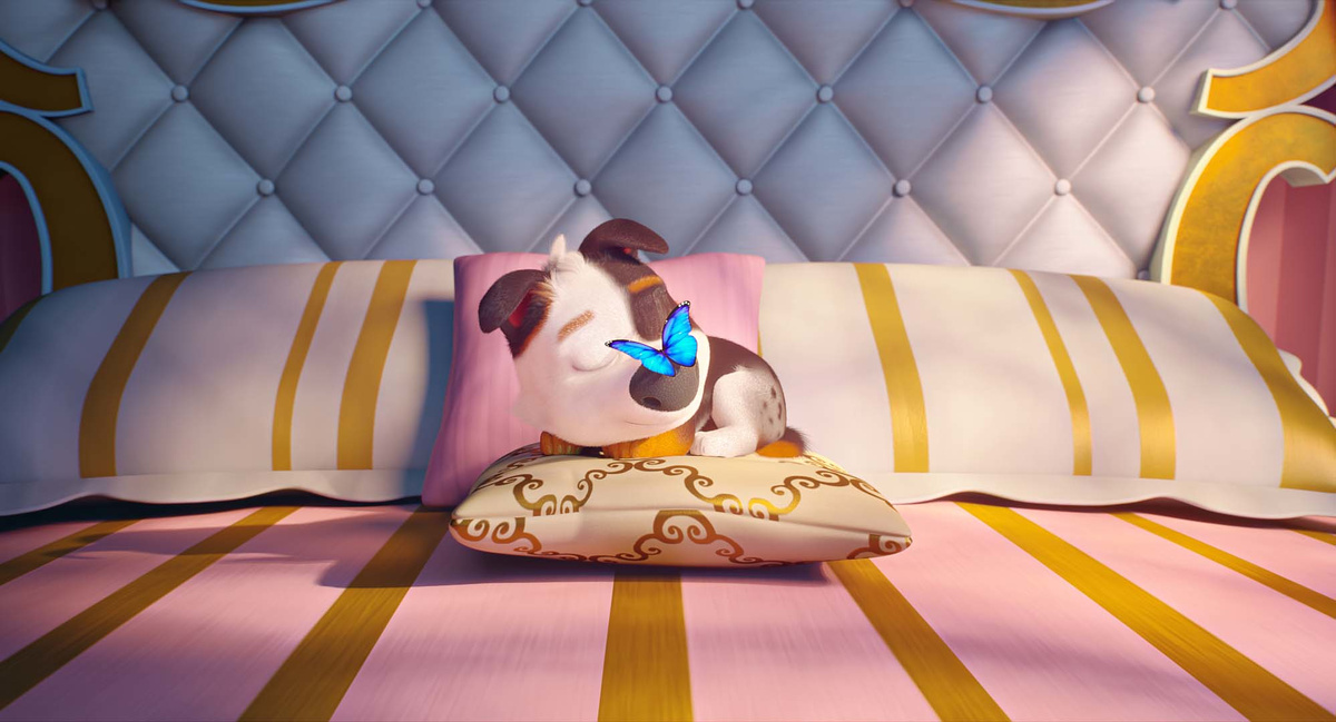 Tappo - Cucciolo in un mare di guai: una sequenza del film d'animazione