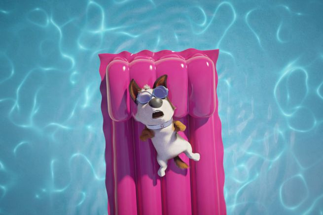 Tappo - Cucciolo in un mare di guai: una scena del film