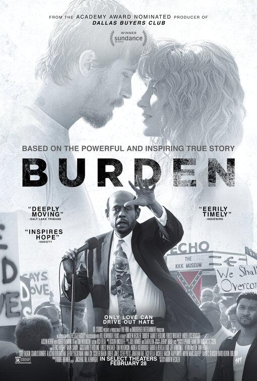 Locandina di Burden