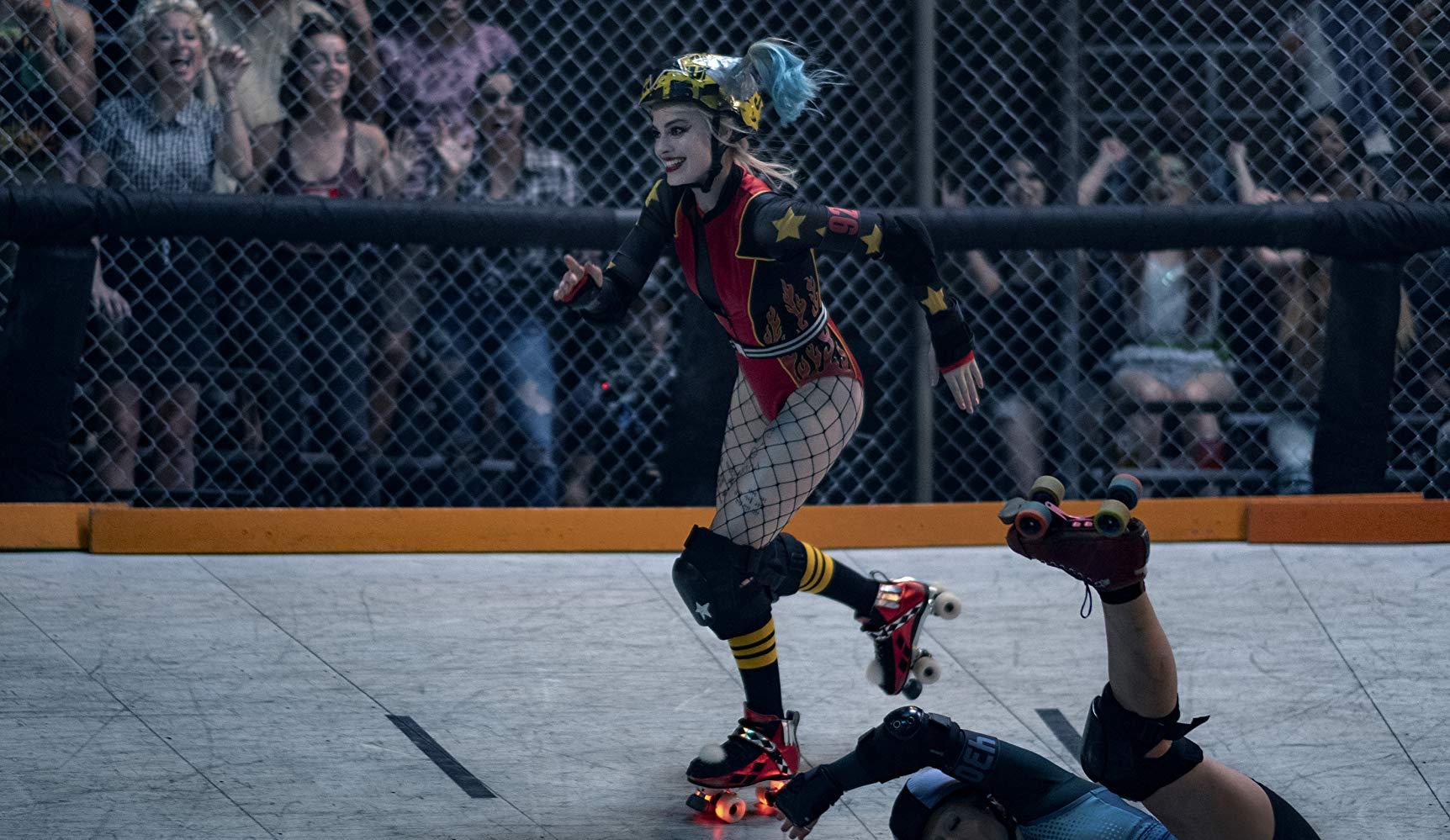Birds Of Prey - E la fantasmagorica rinascita di Harley Quinn: Margot Robbie in una scena del film