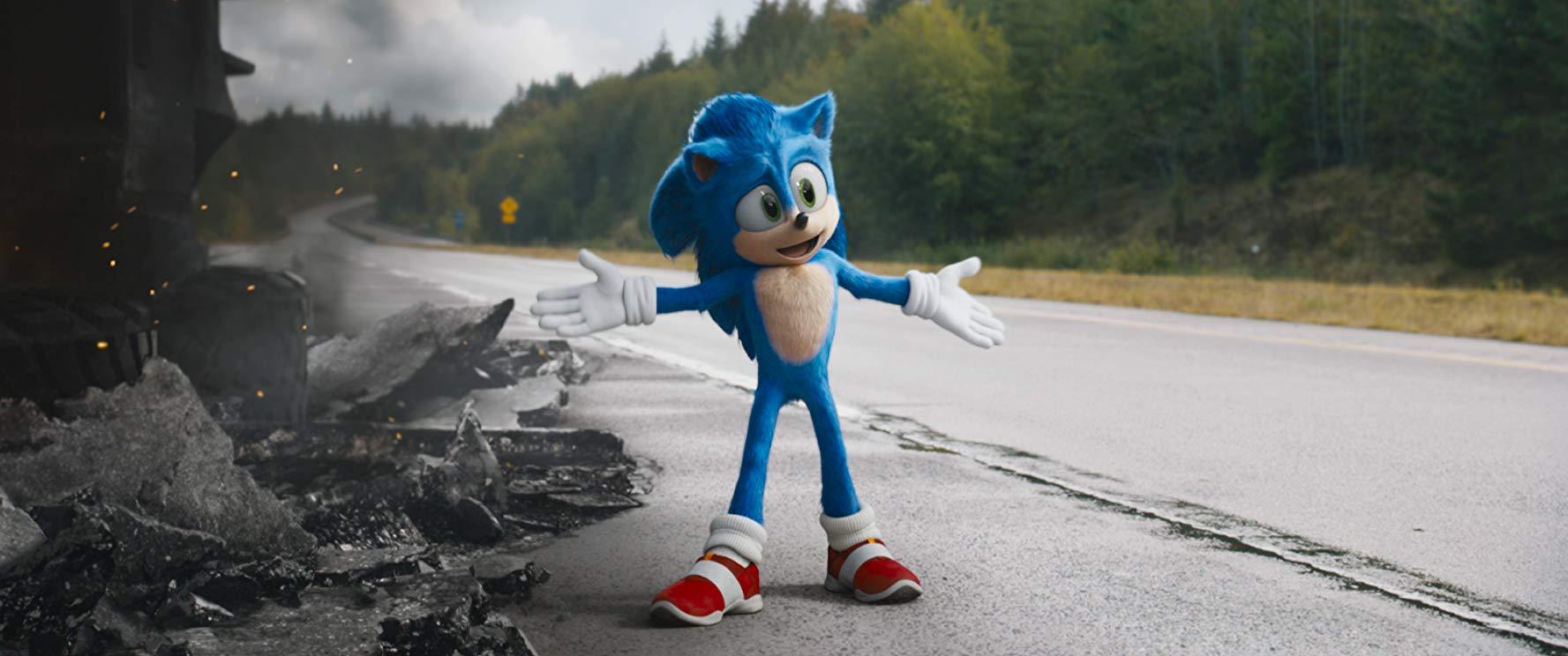 Sonic Il Film: una scena del film