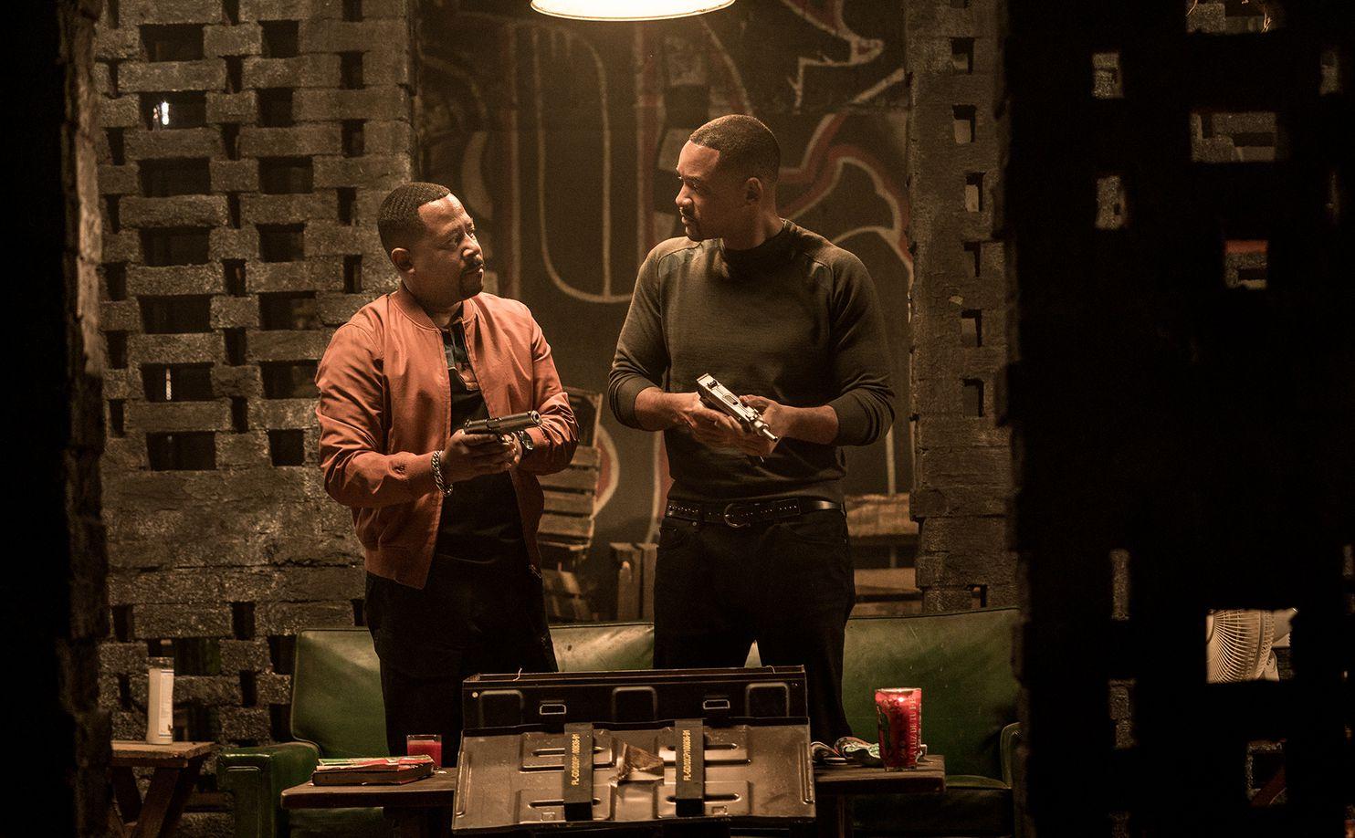 Bad Boys For Life: Will Smith, Martin Lawrence in una sequenza del film