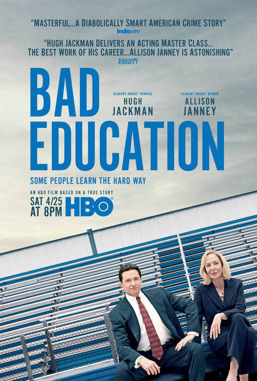 Locandina di Bad Education