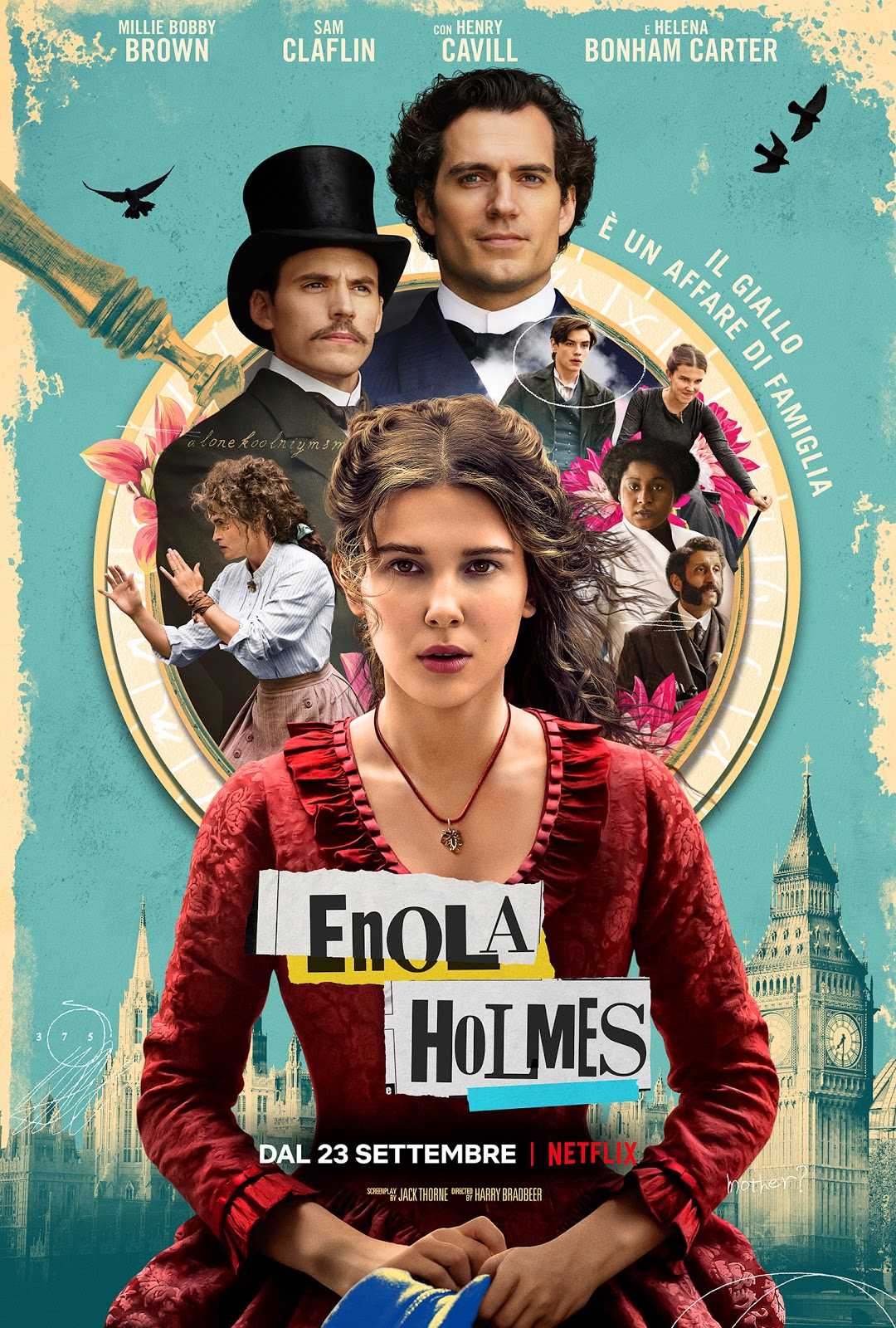 Locandina di Enola Holmes