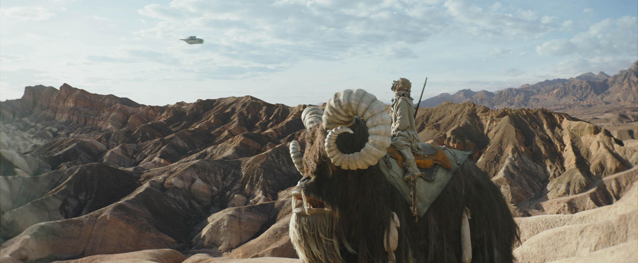 The Mandalorian 2: una foto di scena