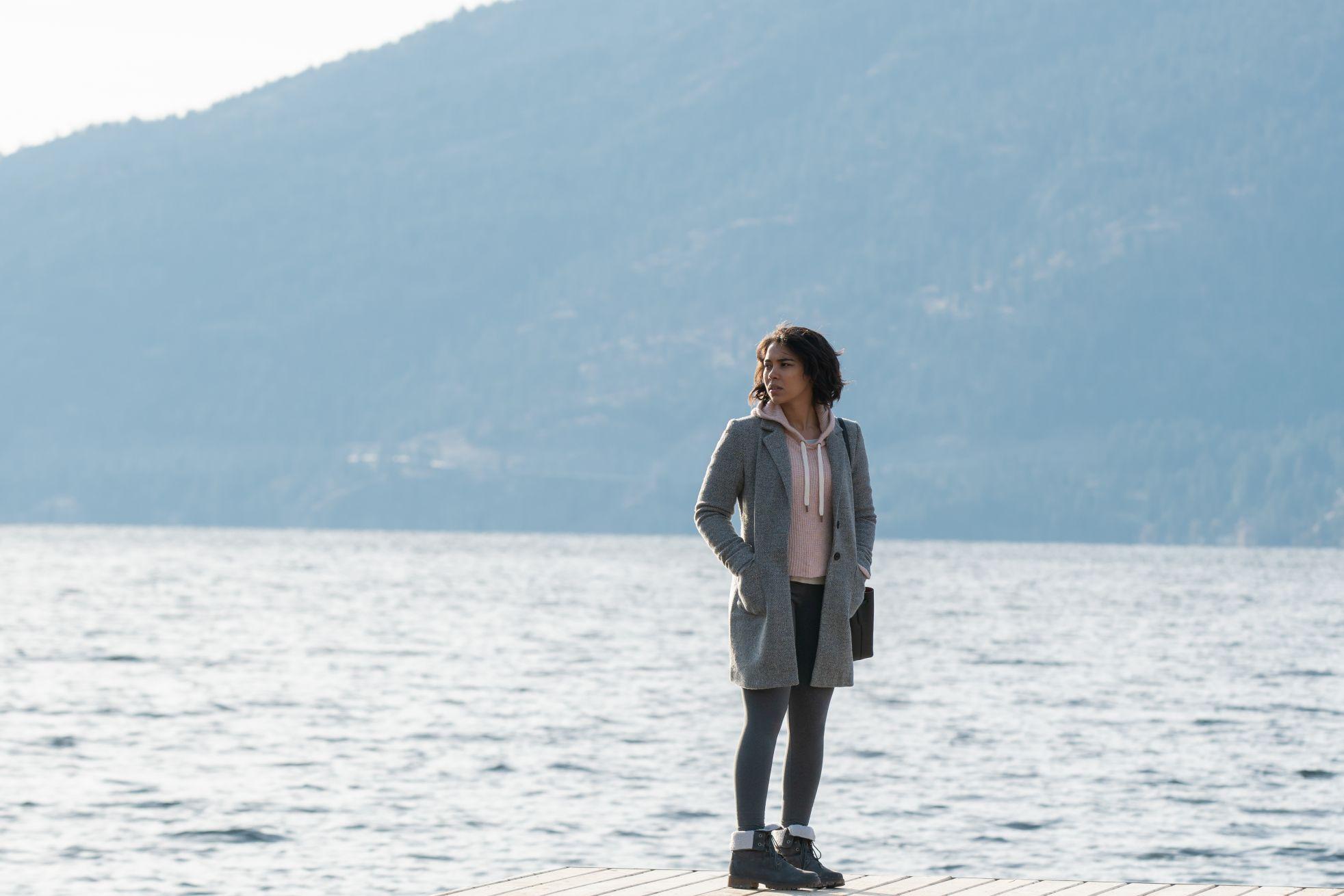 Endless: Alexandra Shipp in una sequenza