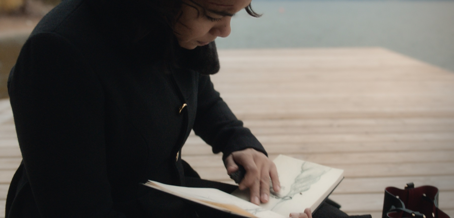Endless: Alexandra Shipp in una scena del film