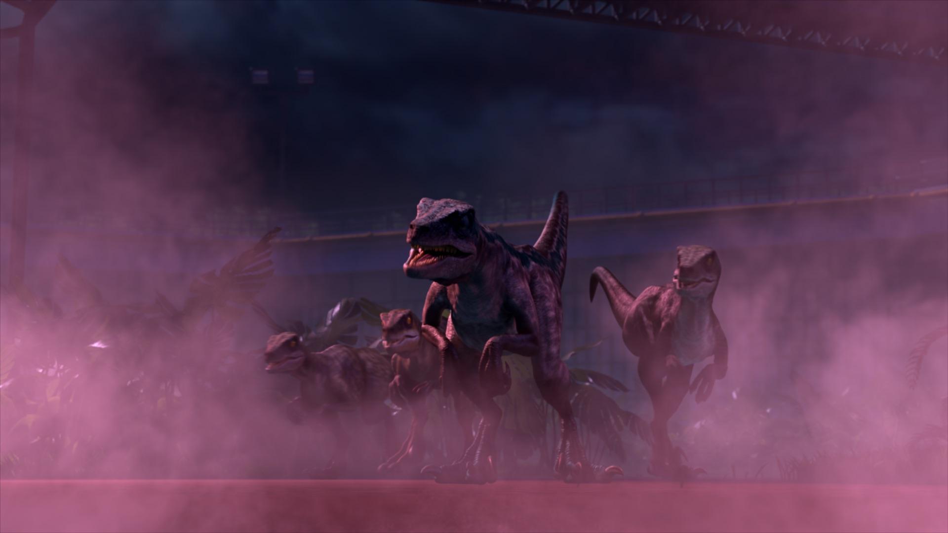 Jurassic World: Nuove avventure - i feroci raptor