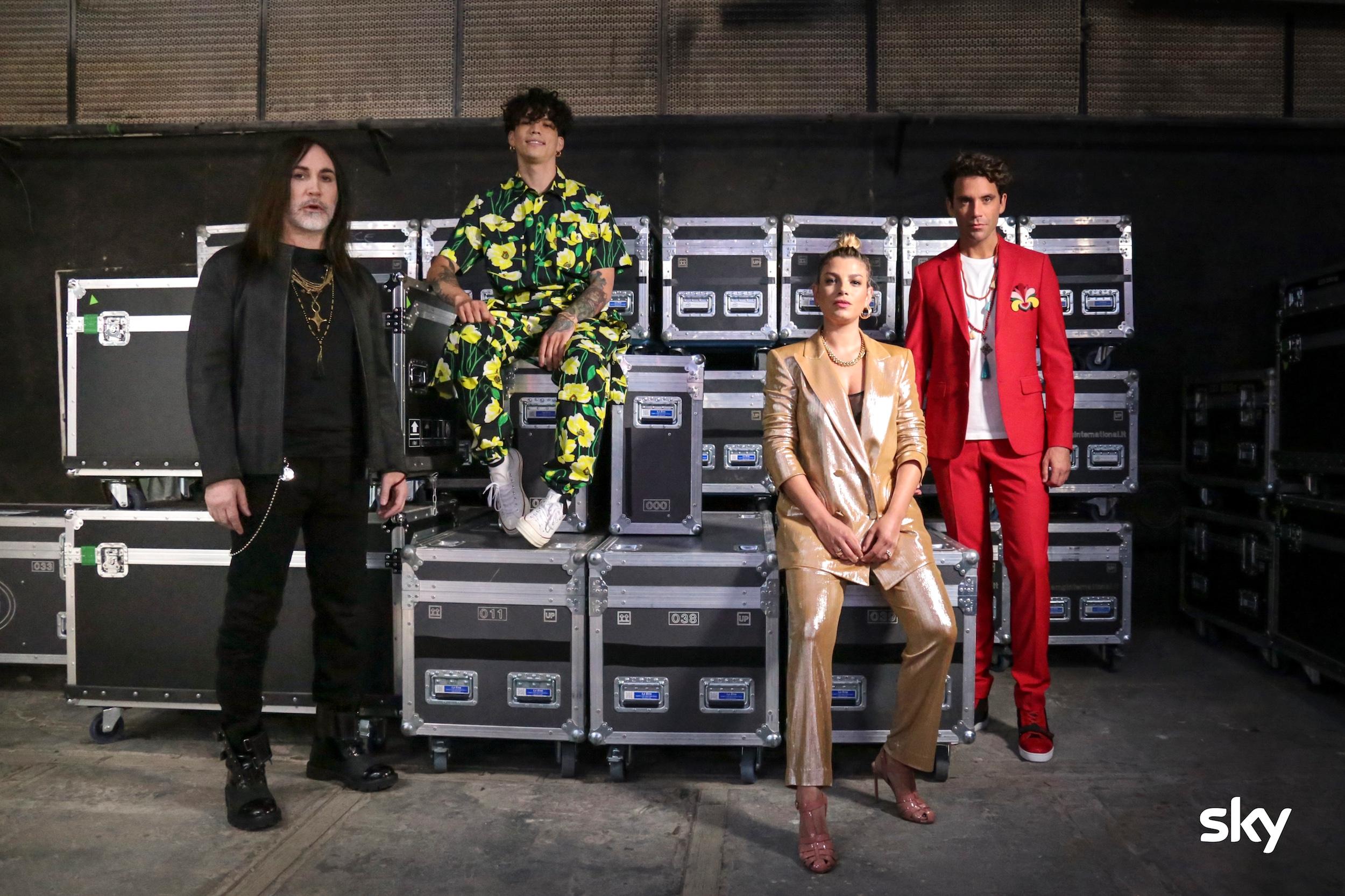 X-Factor 2020: i giudici della nuova edizione
