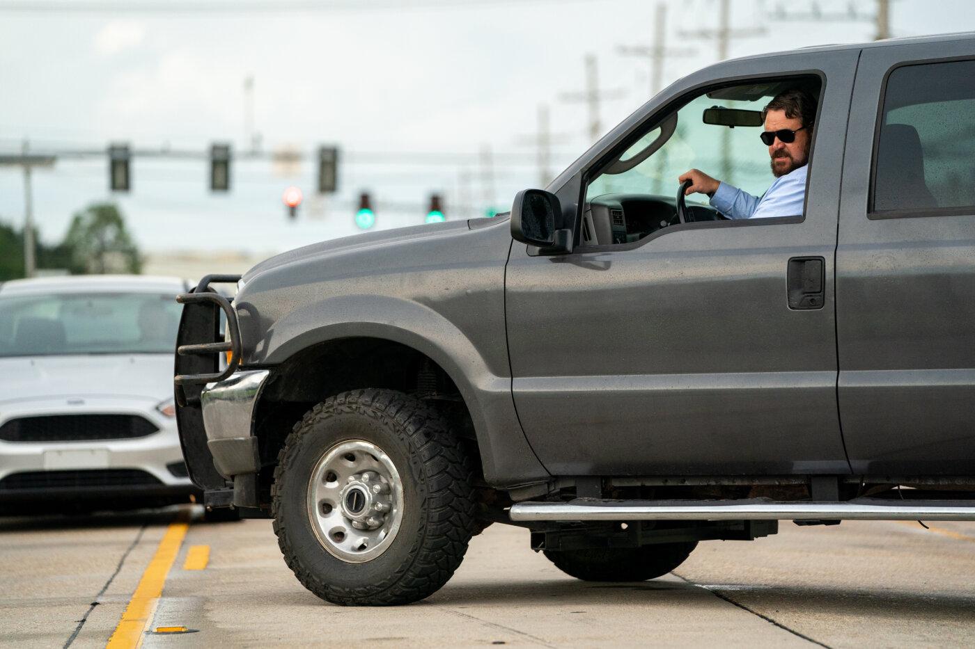 Il giorno sbagliato: Russell Crowe in una scena del film