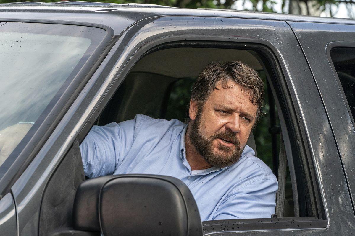 Il giorno sbagliato: Russell Crowe in una sequenza