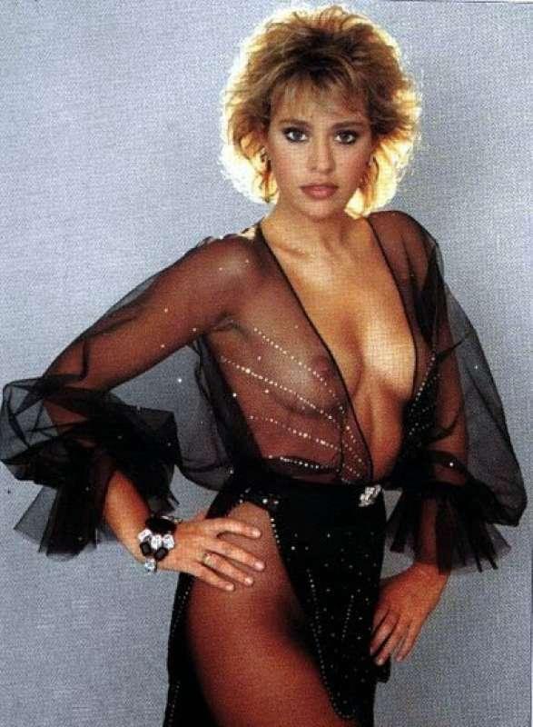 Alessandra Mussolini su Playboy nel 1983
