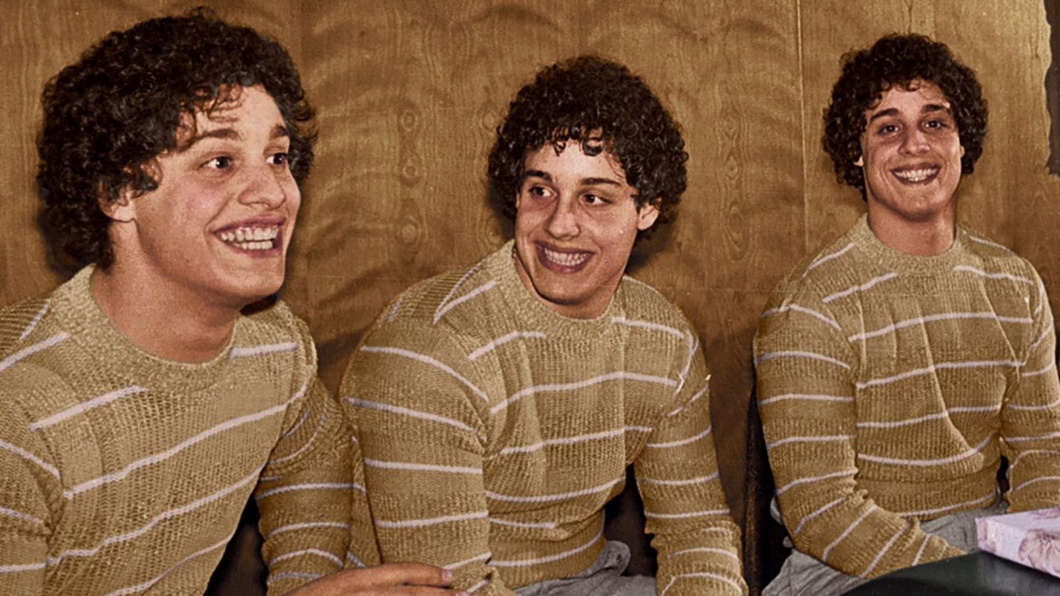 Three Identical Strangers: una sequenza del film
