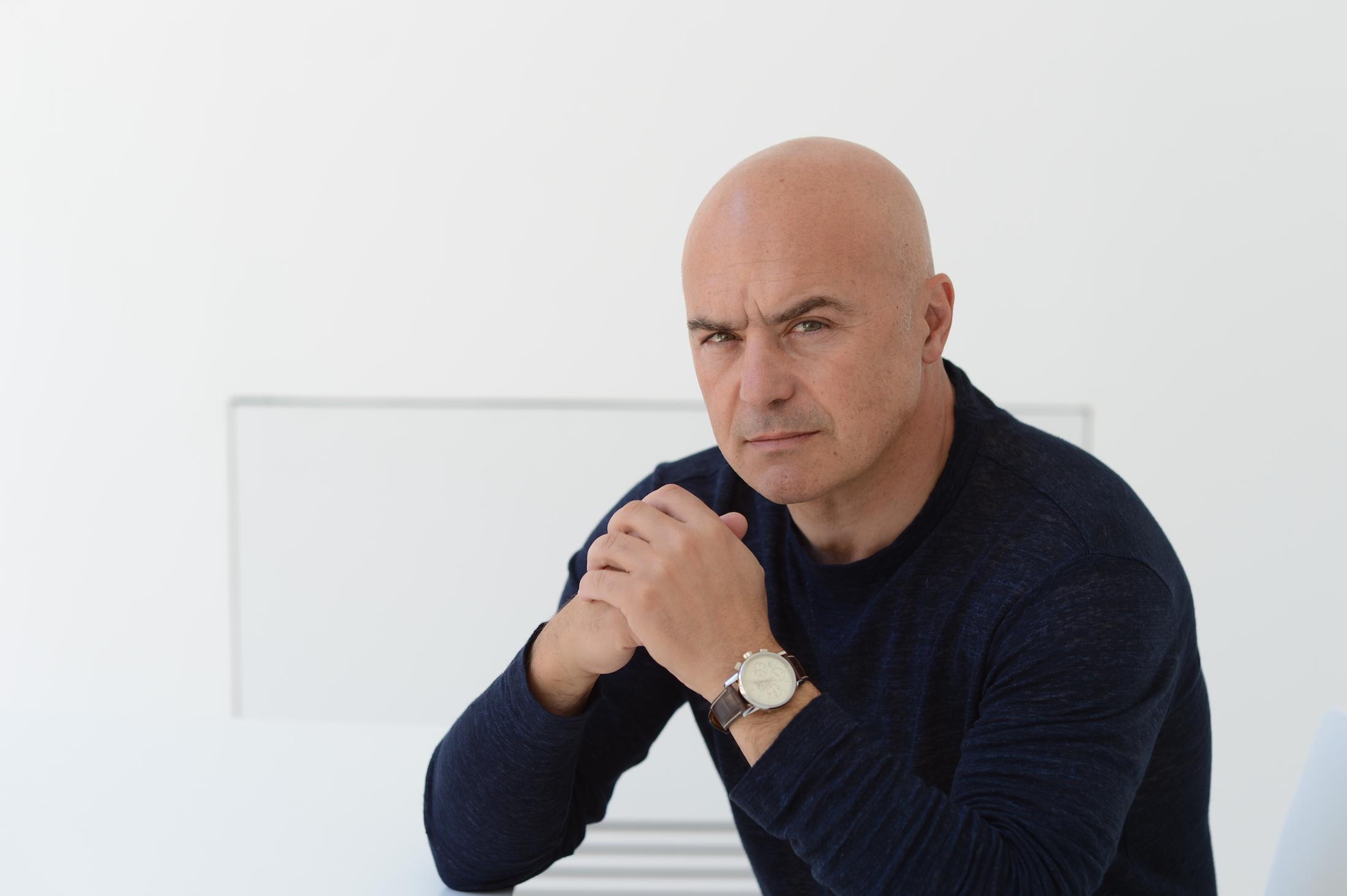Luca Zingaretti, una foto dell'attore