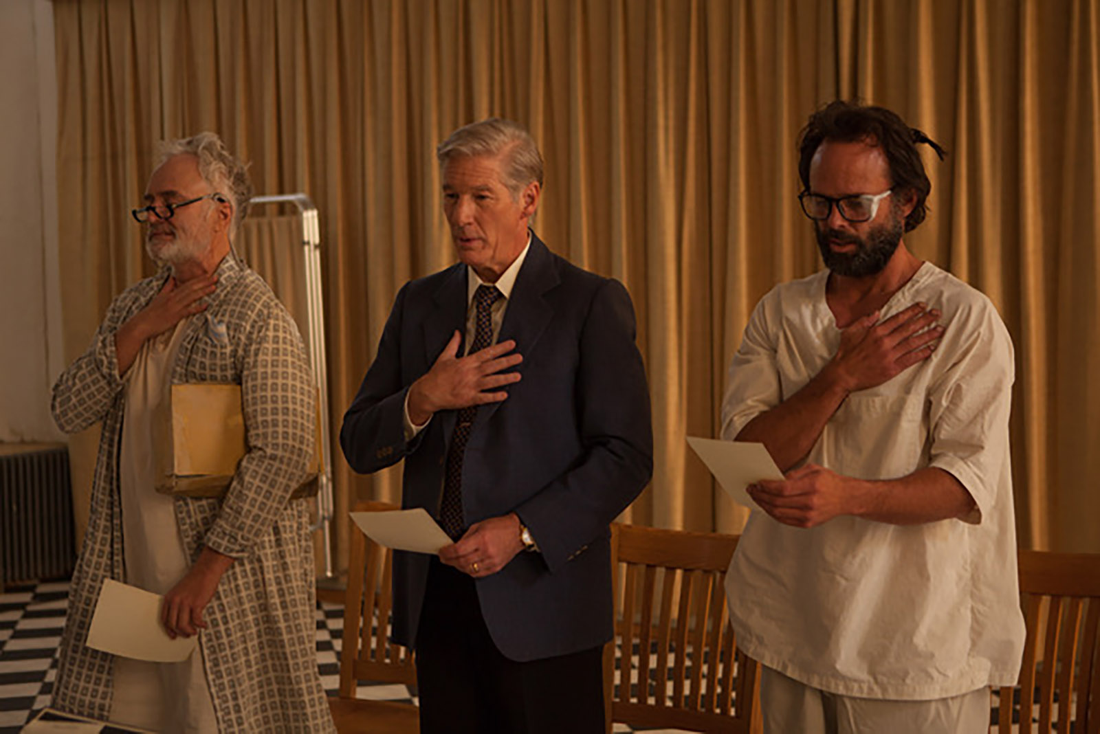 State of Mind (Three Christs): una scena con Richard Gere, Walton Goggins, Bradley Whitford
