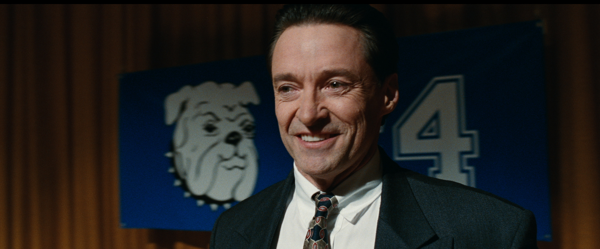 Bad Education: Hugh Jackman in un primo piano