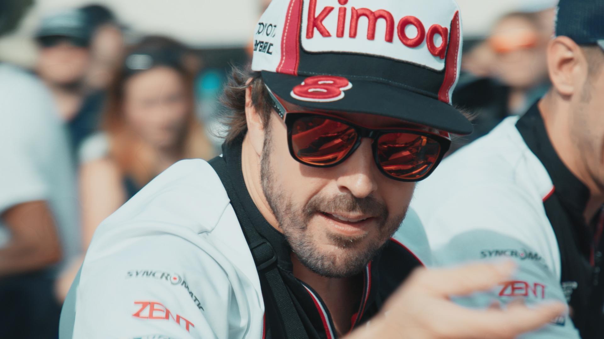 Fernando: un'immagine di Fernando Alonso