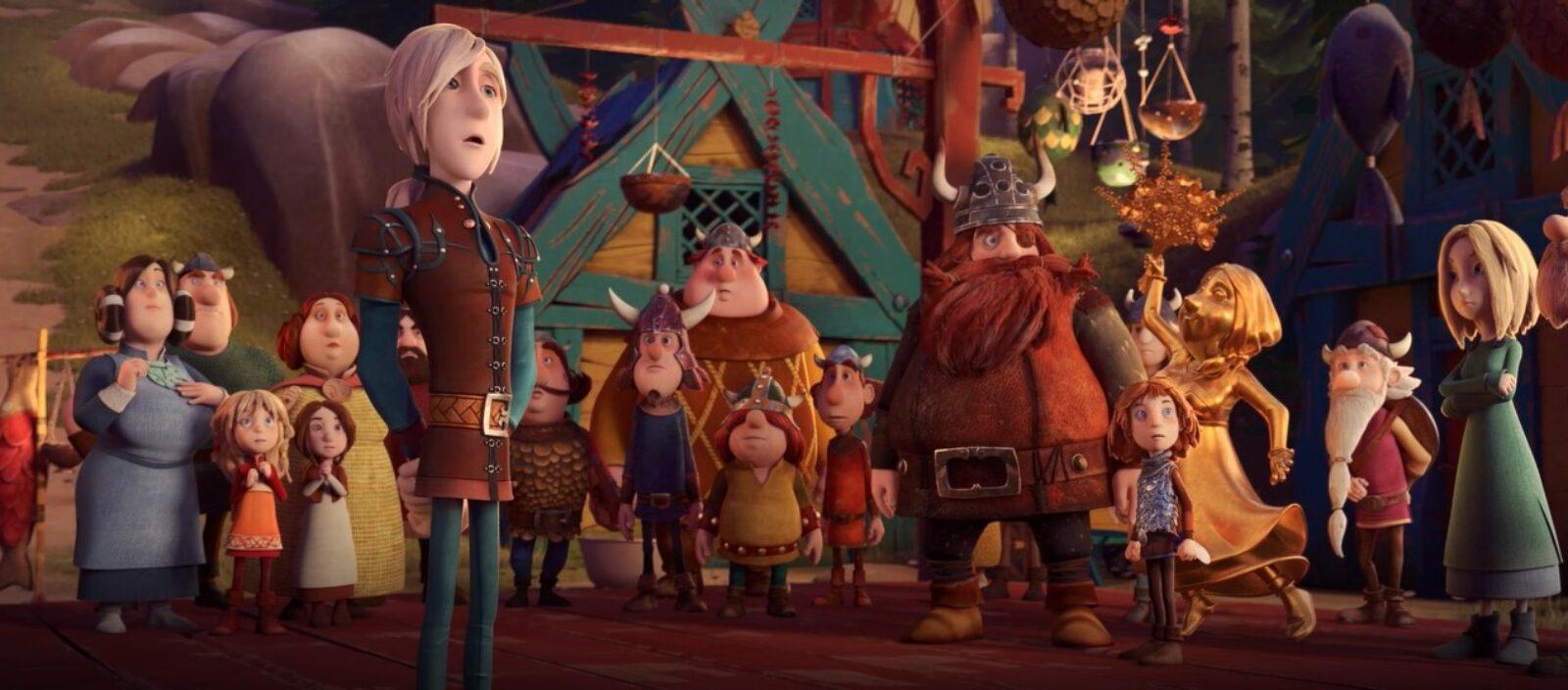 Vic il Vichingo e la Spada Magica: un'immagine del film