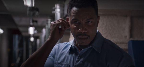 Welcome to Sudden Death: Michael Jai White in una scena del film