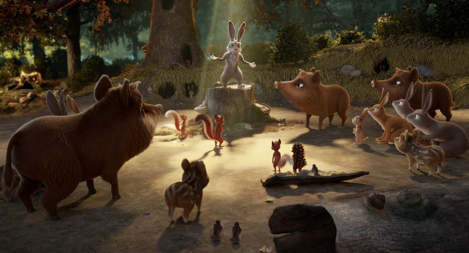 Latte e la pietra magica: una sequenza del film