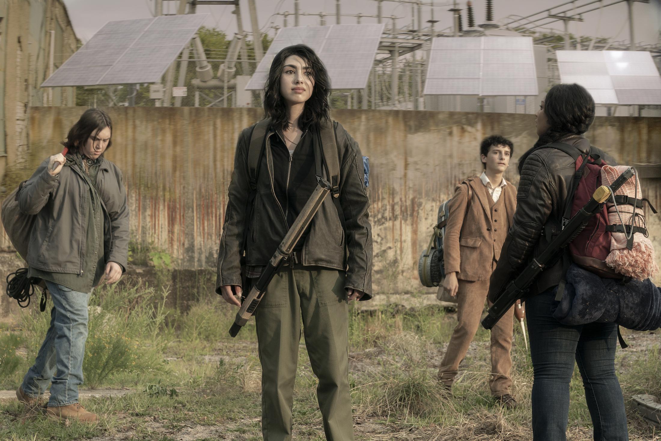 The Walking Dead - World Beyond: un'immagine dello spin-off della serie
