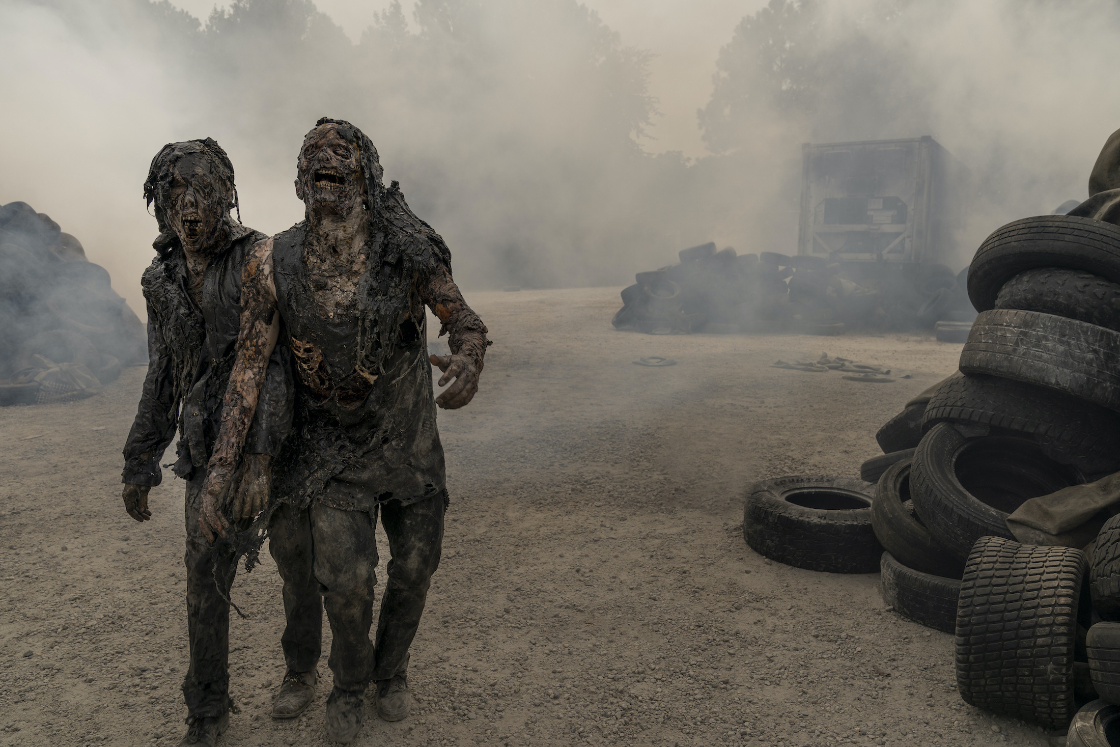 The Walking Dead - World Beyond: una scena dello spin-off