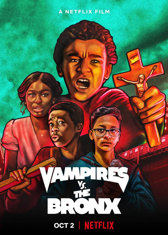 Locandina di Vampires vs. the Bronx