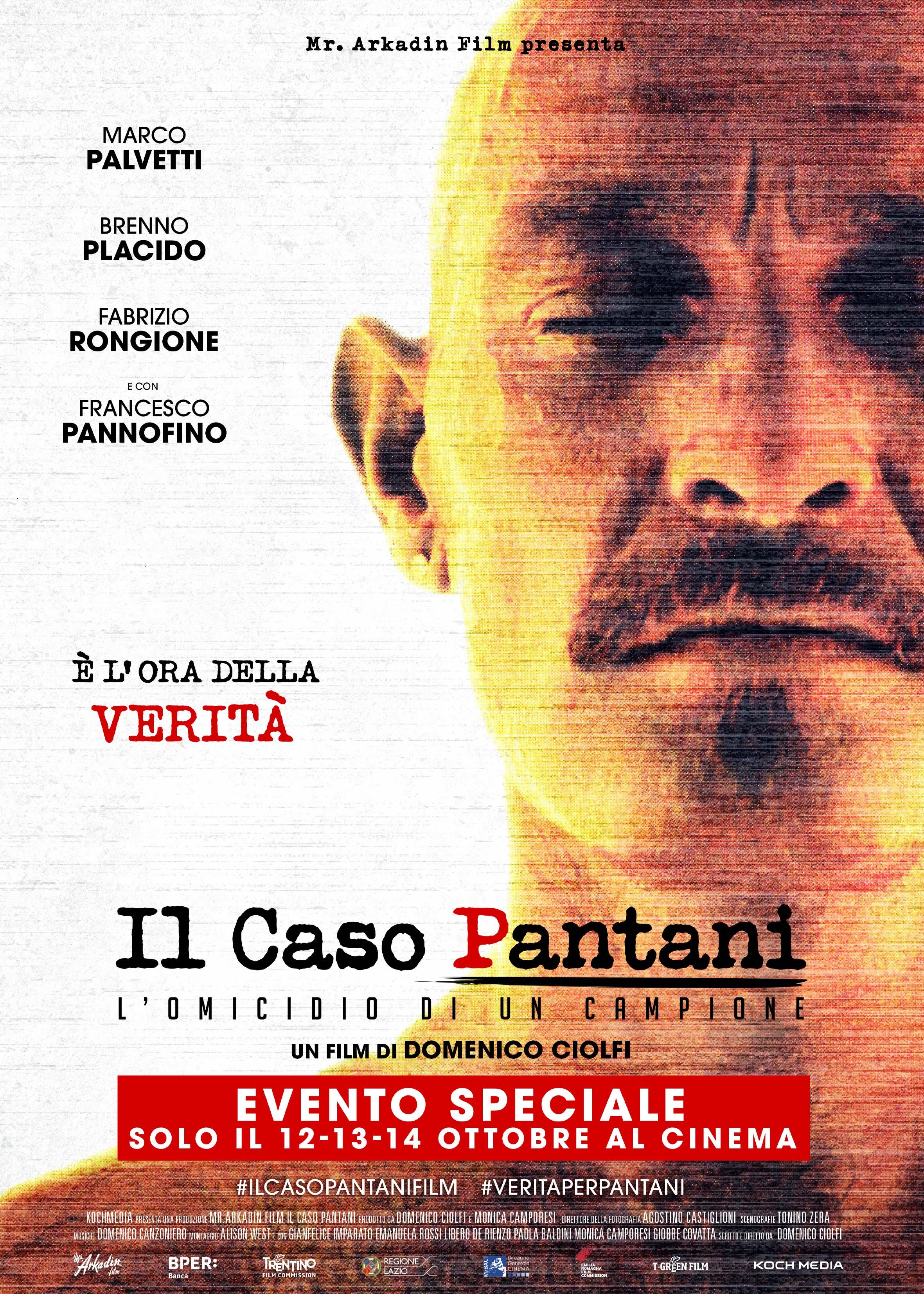 Locandina di Il caso Pantani - L'omicidio di un campione