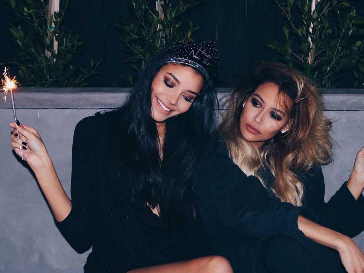 Naya Rivera e sua sorella Nickayla