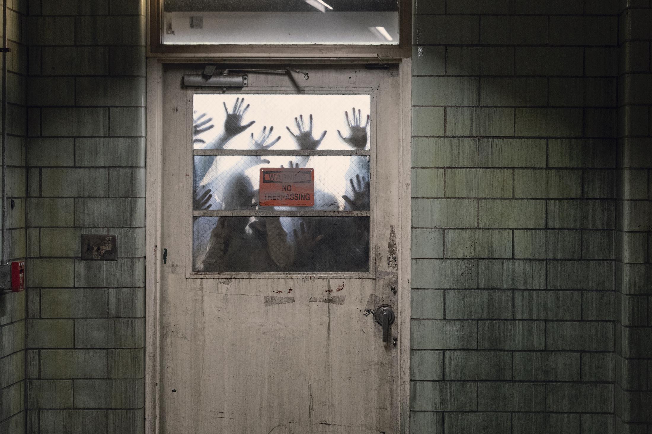 The Walking Dead 10: una foto di scena dell'episodio 16