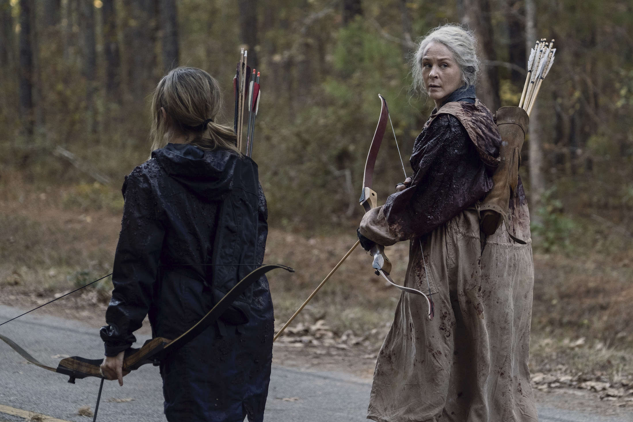 The Walking Dead 10: una foto di scena