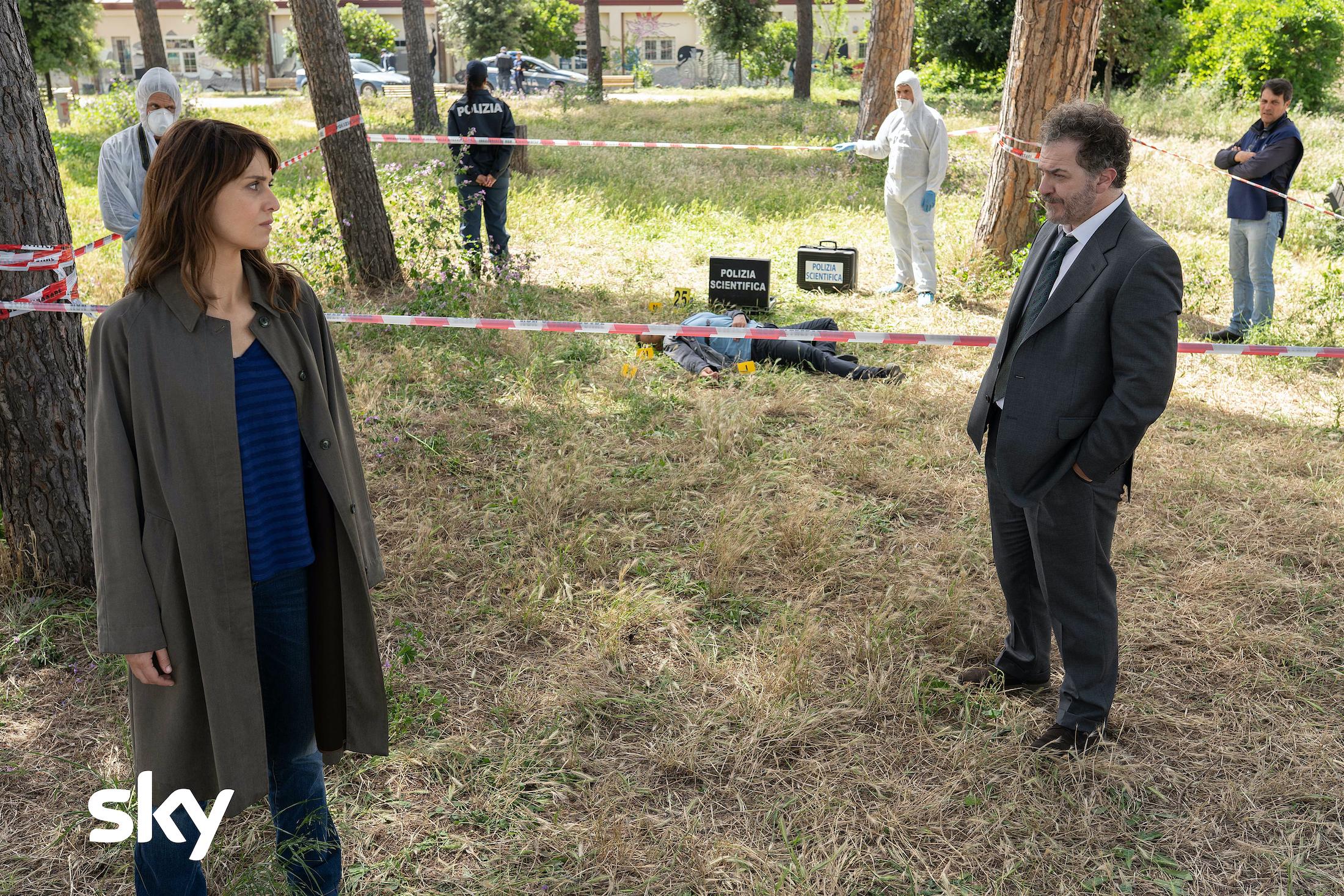 Petra: Paola Cortellesi e Andrea Pennacchi nel quarto episodio