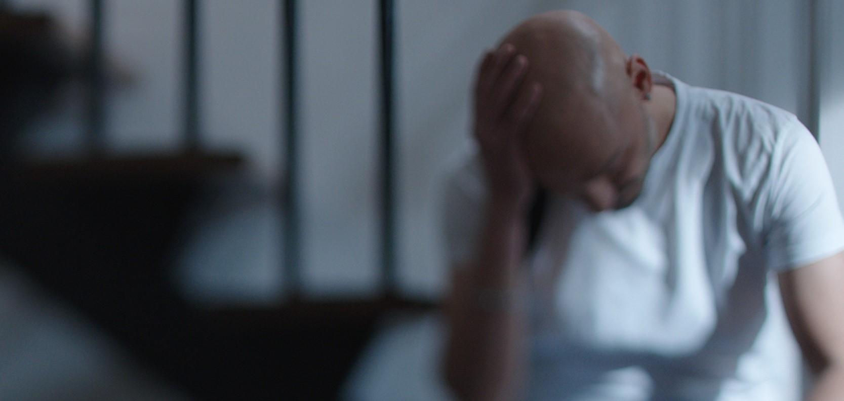 Il caso Pantani - L'omicidio di un campione: una scena del film