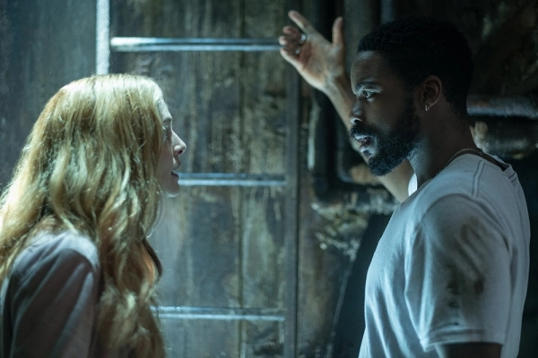 The Stand: una foto di Heather Graham e Jovan Adepo