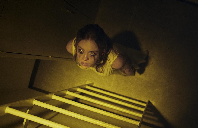 Nocturne: Sydney Sweeney durante una scena del film